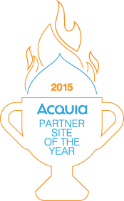 Acquia Partner Site of the Year 2015