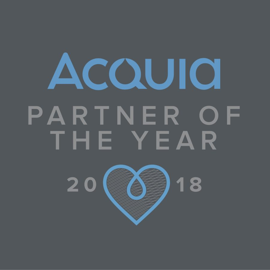 Acquia Partner Site of the Year 2018